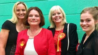 Julie Cooper holds Burnley