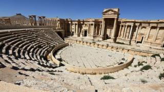 Amphitheatre Palmyra, Syria