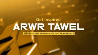 Arwr Tawel 2017 logo