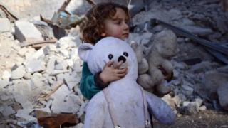 Suriyeli bir çocuk