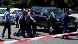задержание подозреваемого в Алма-Ате