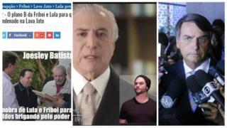 Lula, Temer e Bolsonaro