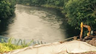 Work above the River Eden