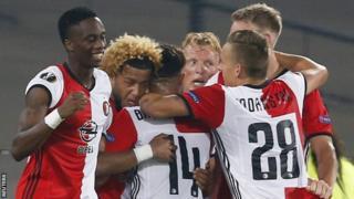 Feyenoord washerehekea dhidi ya Manchester United