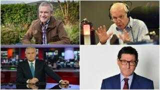 Jeremy Vine, John Humphrys, Jon Sopel and Huw Edwards