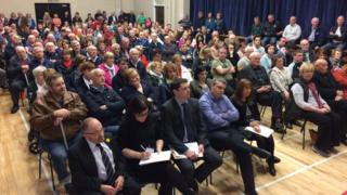 Roslea public meeting