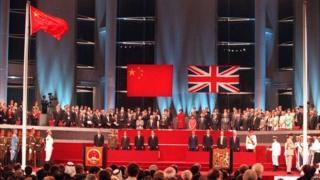 英国表示,《中英联合声明》体现了英国和中国两国政府按照一国两制的原则,为香港的繁荣、稳定以及香港的生活方式所作的承诺和保证。(资料照片)