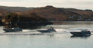 Unmanned Warrior boats