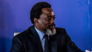 President of the Democratic Republic of Congo, Joseph Kabila, holds a press conference for the first time in five years on January 26, 2018