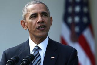 El presidente de EE.UU. Barack Obam