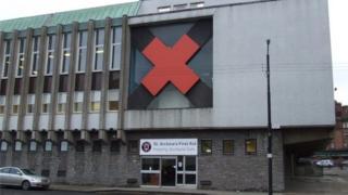 38. Ambulance Service and St Andrew's Ambulance Station, Maitland St, Glasgow