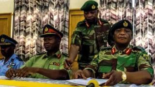 Jenerali wa jeshi la Zimbabwe Constantino Chiwenga