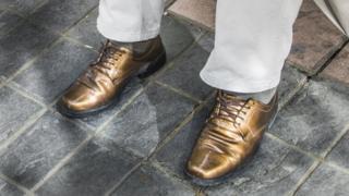 Zapatos de un boliviano