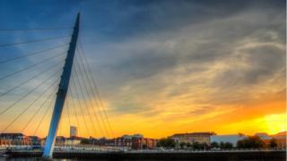 Swansea's Millennium Bridge