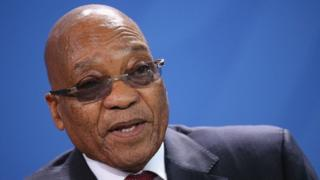 Maandamano yamekuwa yakifanyika kumtaka Zuma ajiuzulu