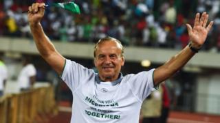 Gernot Rohr Nigeria coach