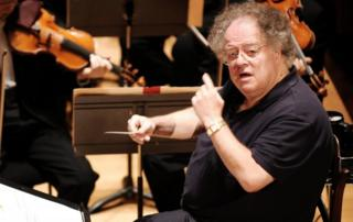 US conductor James Levine pictured in 2007