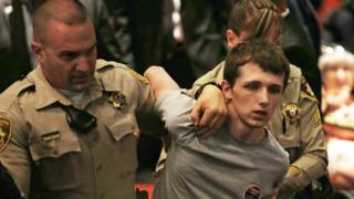 Sandford was dramatically arrested during a Las Vegas