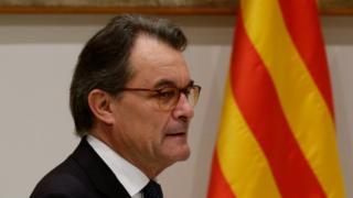 Former Catalan leader Artur Mas