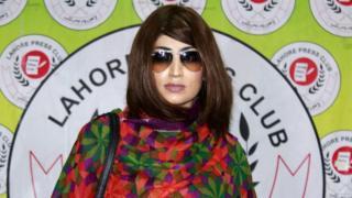 Пакистанская модель и блогер Кандил Балоч