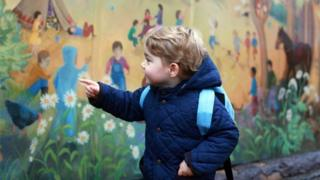 Prince George age 2