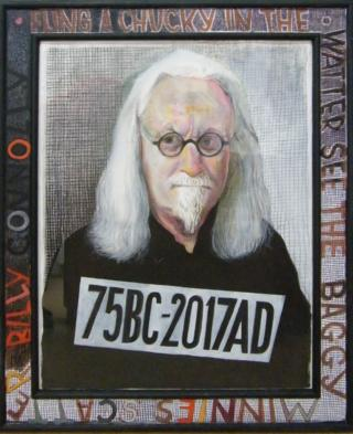 Artist John Byrne's portrait paints Billy Connolly as he is now