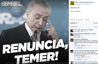 Página do Facebook