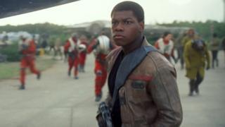 John Boyega in The Force Awakens