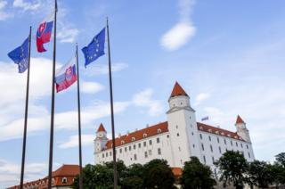 Bratislava Castle, venue of EU meeting on 16 Sep