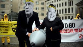ICAN protestosu