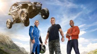 Top Gear: Chris Harris, Matt LeBlanc and Rory Reid