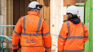 HS2 workers