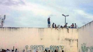 Prisoners at Alcacuz prison, Natal
