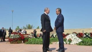 Putin va Mirziyoyev