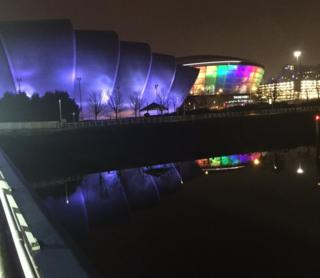 Armadillo and Hydro in Glasgow