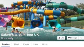 Summer Safari Waterpark Facebook page