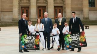Karate tournament launch