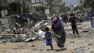 Ndege za kivita za Israel zashambulia maficho ya wapiganaji wa Hamas Gaza
