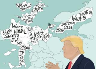 Trump's views on Europe