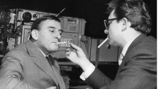 Smokers at the BBC