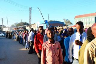 Hargeisa voters