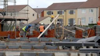 Construction site in Bristol
