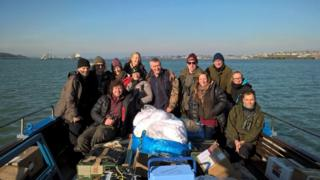 Skokholm Island volunteers