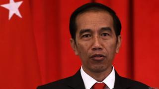 Shugaba Joko Widodo na Indonesia