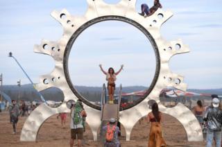 Instalación conmemorativa al eclipse