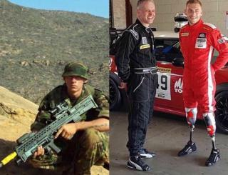 Former soldier David Birrell now wants to take part in the Le Mans 24-hour race