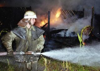 Пожежа спалахнула через загоряння сухої трави, заявляють у ДСНС (архівне фото)
