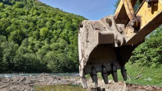 Строительство малой ГЭС в Закарпатье