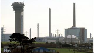 Sellafield nuclear plant in the Copeland constituency