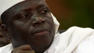 Kiongozi wa Gambia Yahya Jammeh